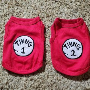 Two dog shirts